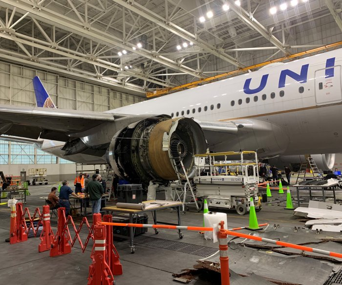 NTSB: United Flight 328 pilots increased throttle before engine failure