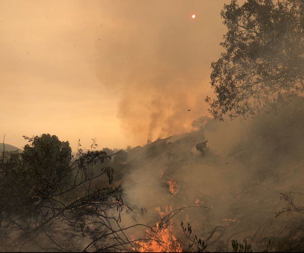 Hotter, drier climate explains increase in size, severity of California's fires