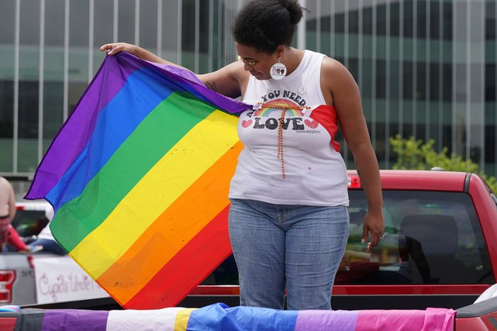 Pride caravans take place in NYC, St. Louis