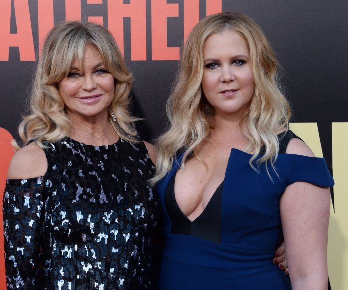 Goldie Hawn, Amy Schumer attend the premiere of their film, 'Snatched,' in Los Angeles