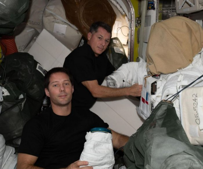 Watch live: Astronauts make ISS spacewalk to install new solar panels
