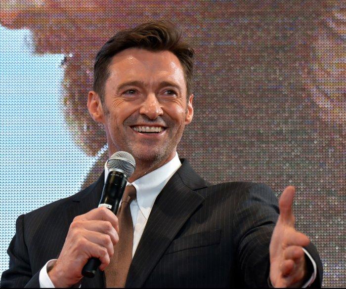 Hugh Jackman attends the 'Logan' premiere in Tokyo