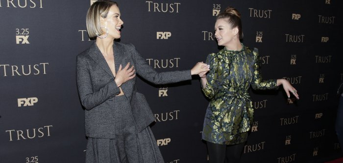 Sarah Paulson, Billie Lourd attend FX All-Star party