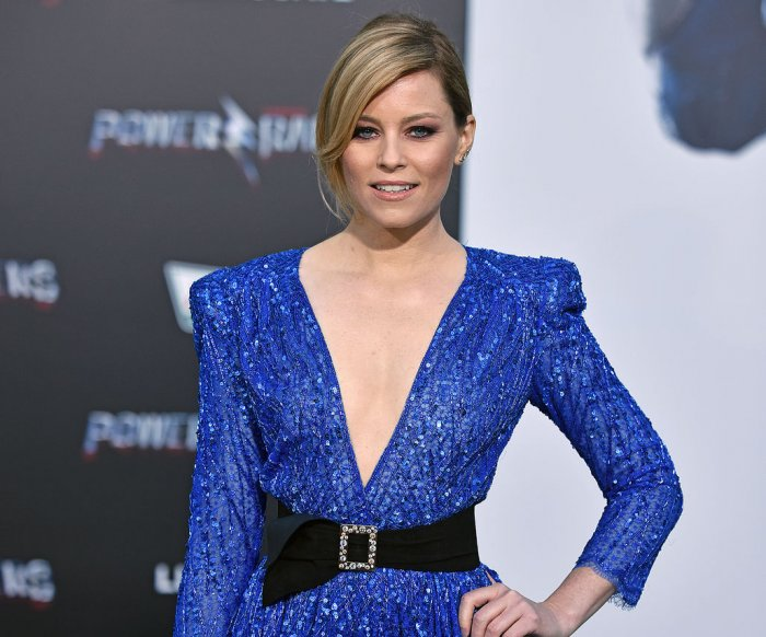 Elizabeth Banks, Bill Hader attend 'Power Rangers' premiere in Los Angeles