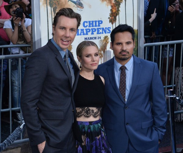 Dax Shepard, Kristen Bell attend 'CHiPS' premiere in Los Angeles