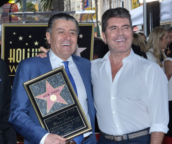 Haim Saban honored with star on Hollywood Walk of Fame
