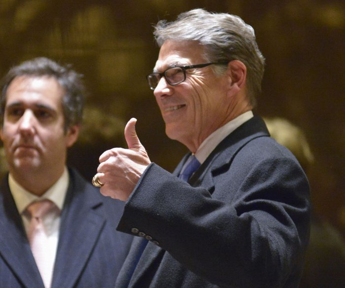 Watch live: Rick Perry's confirmation hearing