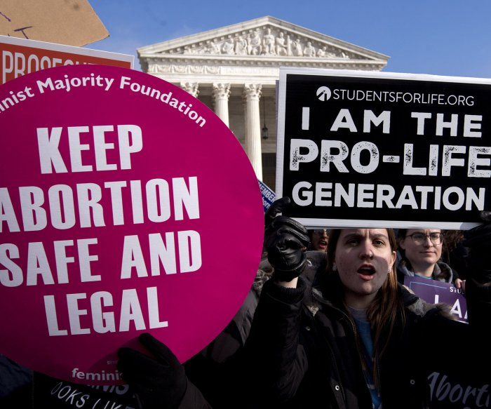 Rallies in all 50 states aim to halt anti-abortion movement