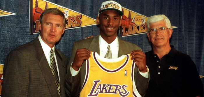 Kobe Bryant through the years