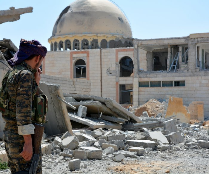Islamic State defeated in Raqqa after four-month siege