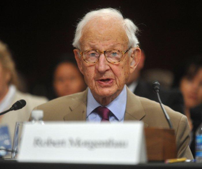 Robert Morgenthau, Manhattan's longest-serving district attorney, dies at 99