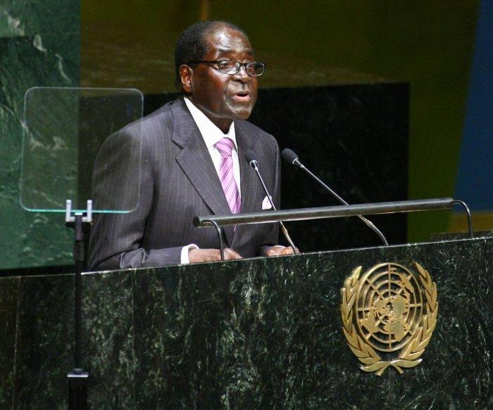 WHO names Zimbabwe Pres. Mugabe goodwill ambassador