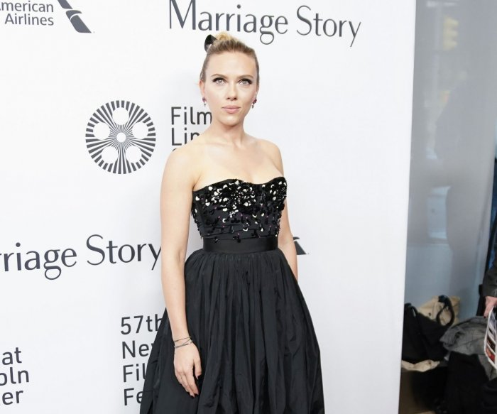 Scarlett Johansson attends premiere of 'Marriage Story' at 57th New York Film Festival