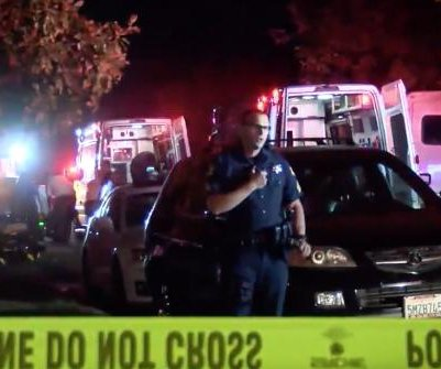 California police search for gunman who killed 4 at football party