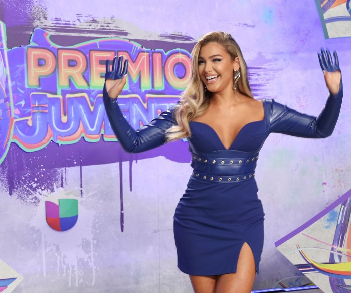 Moments from the Premios Juventud red carpet in Miami