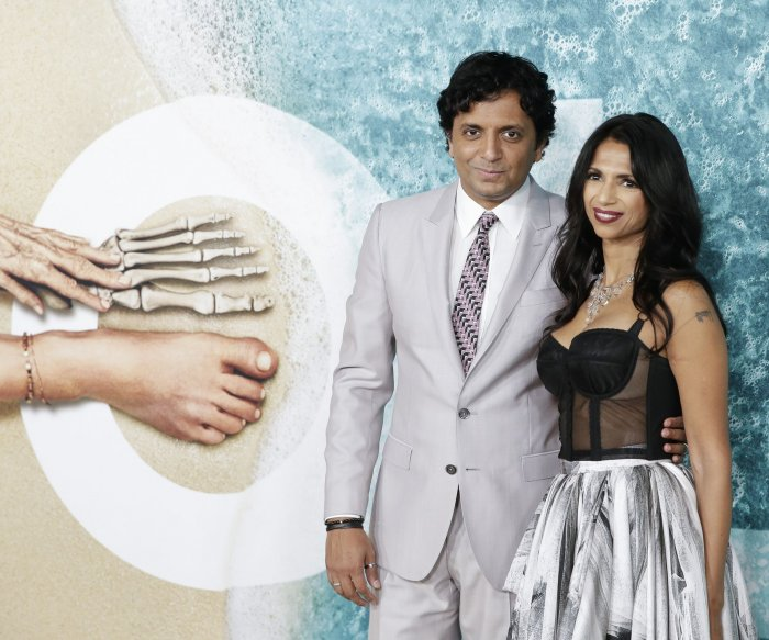 M. Night Shyamalan attends 'Old' premiere in NYC