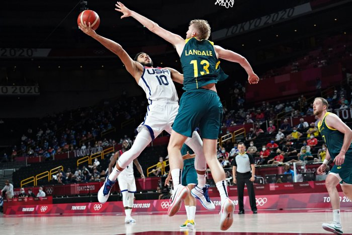 Tokyo Olympics: Moments from men's basketball