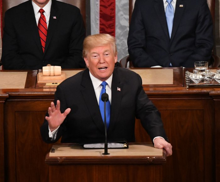 Trump says he will not give State of the Union address until shutdown ends
