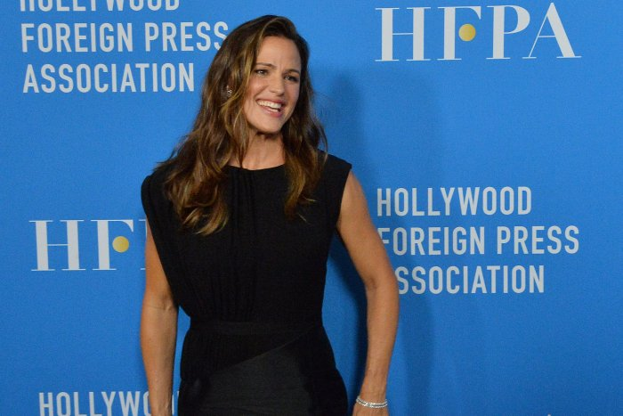 Jennifer Garner, Charlize Theron attend the Hollywood Foreign Press Association Grants Banquet