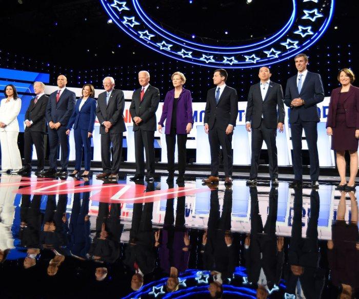 Democrats tackle impeachment, Syria conflict in fourth debate