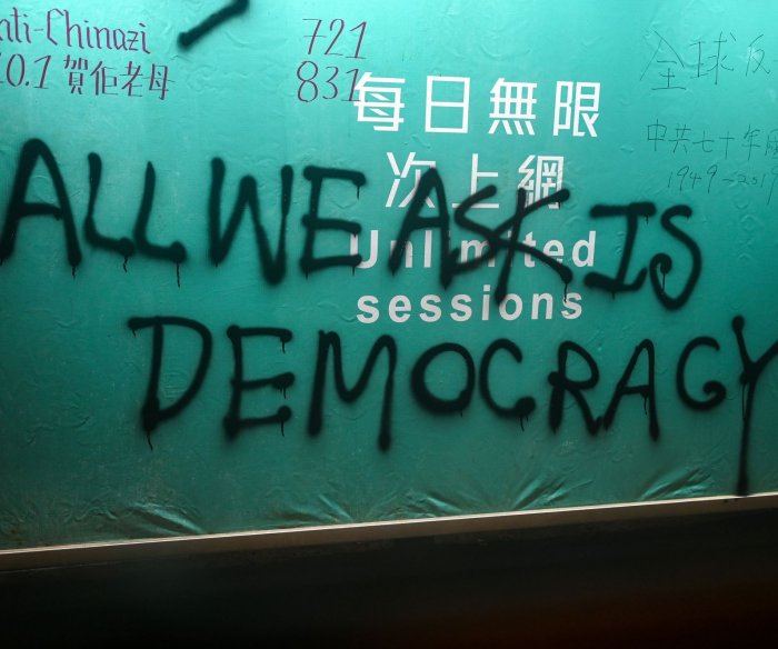 Simmering Hong Kong preps for elections under tightened security