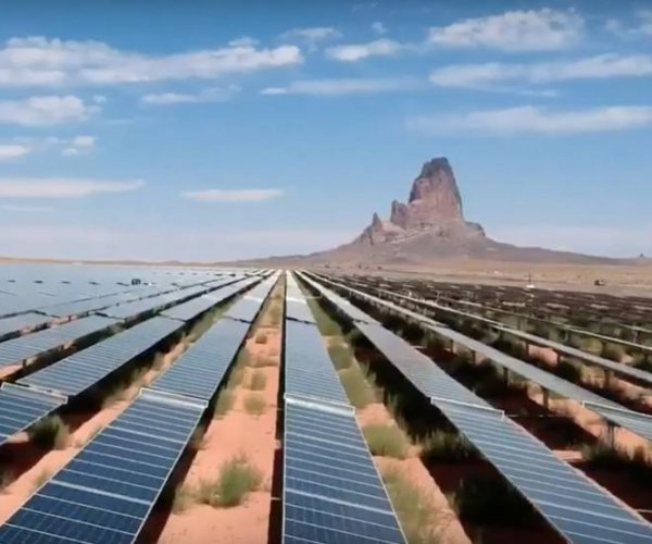 As coal dwindles, Southwest tribal solar farms pump out power