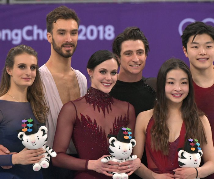 Canada claims ice dancing gold; U.S. duo takes bronze