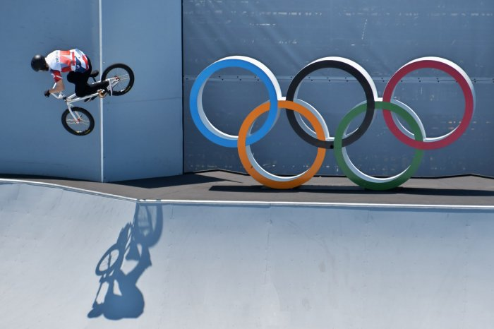 Tokyo Olympics: Moments from BMX events