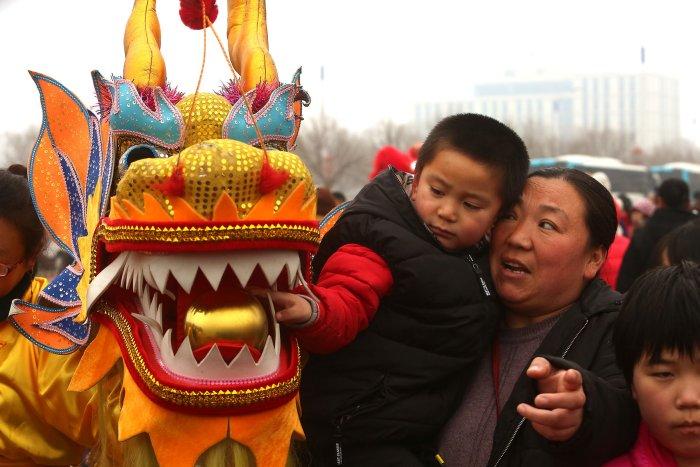 Beijing celebrates annual Lantern Festival