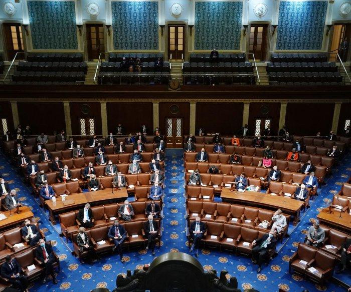 Congress certifies Electoral College vote