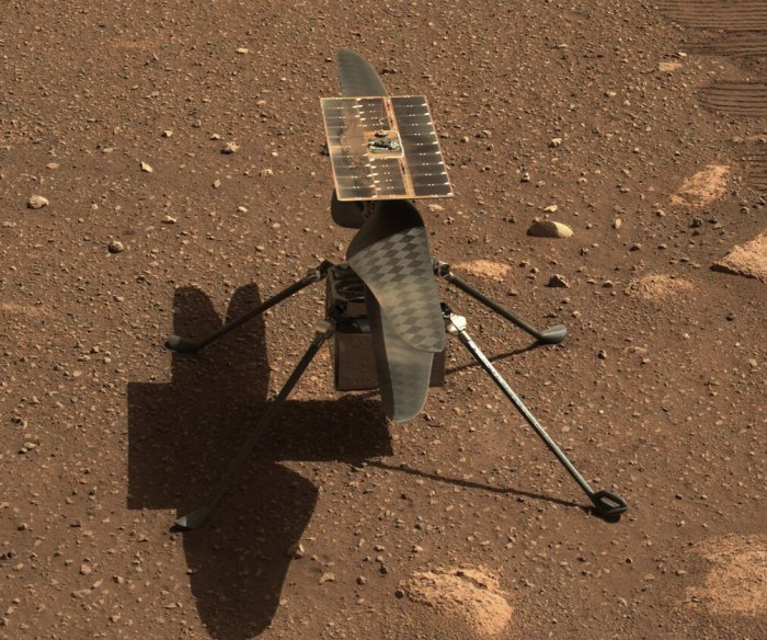 Mars helicopter Ingenuity makes second, longer flight