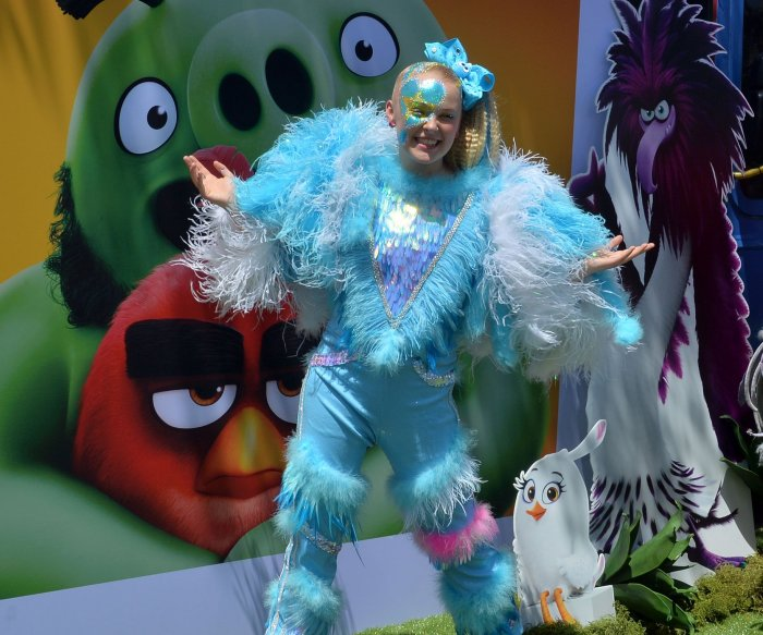 JoJo Siwa, Sterling K. Brown attend 'Angry Birds Movie 2' premiere