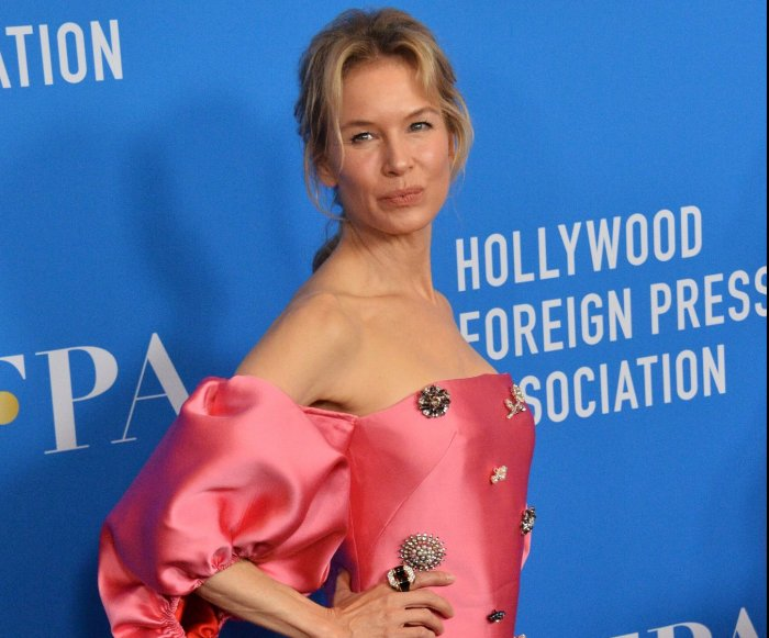 Renee Zellweger, Ali Wong attend the Hollywood Foreign Press Association Grants Banquet
