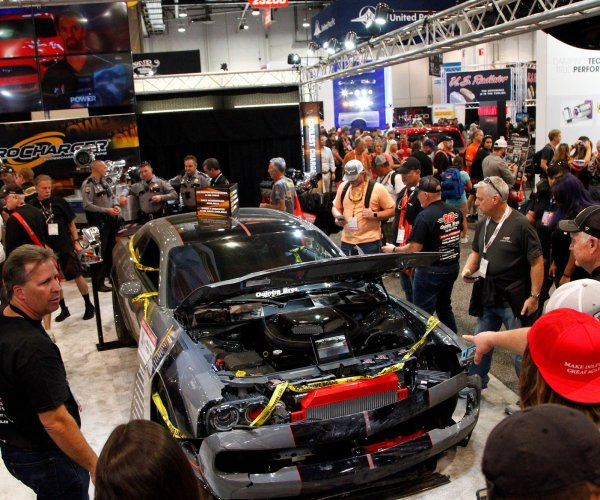 Car creations draw fans to SEMA Show