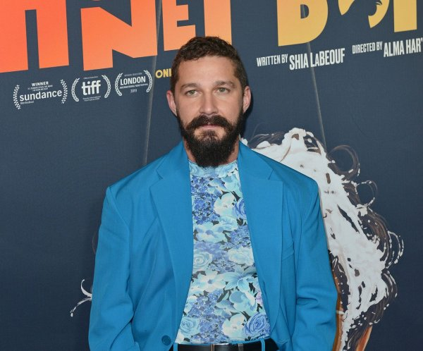 Shia LaBeouf attends 'Honey Boy' premiere in LA