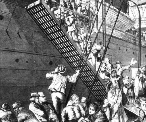 Climate change encouraged 19th century migration to America