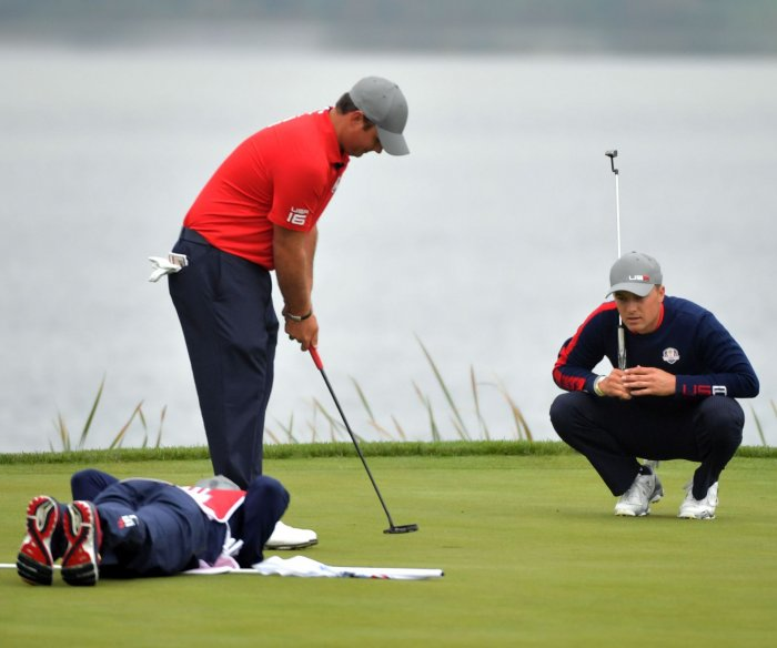 On the fairways and greens at the 2016 Ryder Cup