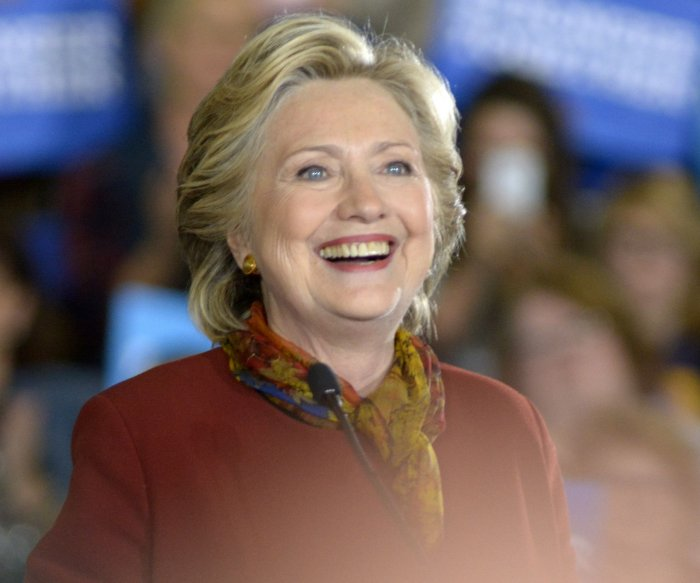 In pictures: Democratic presidential candidate Hillary Clinton through the years
