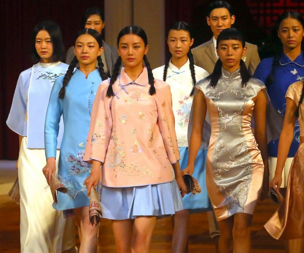 Highlights from the NE-Tiger collection at China Fashion Week 2017