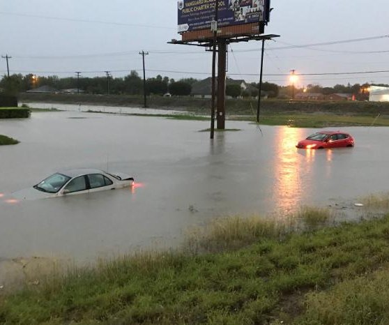 Heavy rains trigger flash floods in south Texas