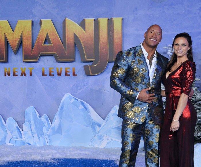 Dwayne Johnson, Jack Black attend 'Jumanji: The Next Level' premiere in LA