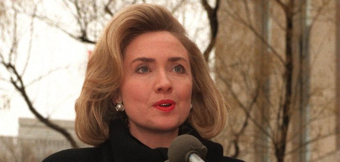 Hillary Clinton through the years