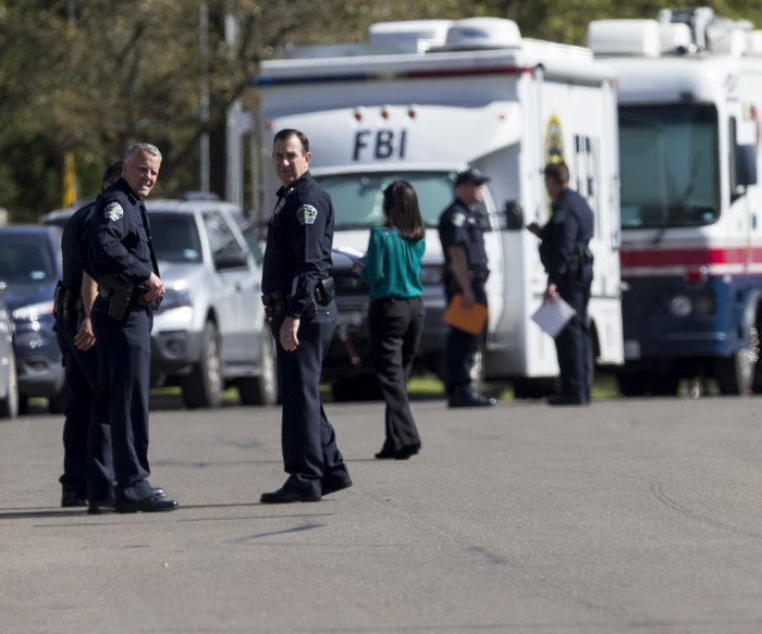 Package headed for Austin explodes at FedEx center