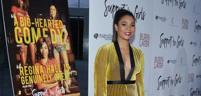 Regina Hall, Haley Lu Richardson attend 'Support the Girls' premiere