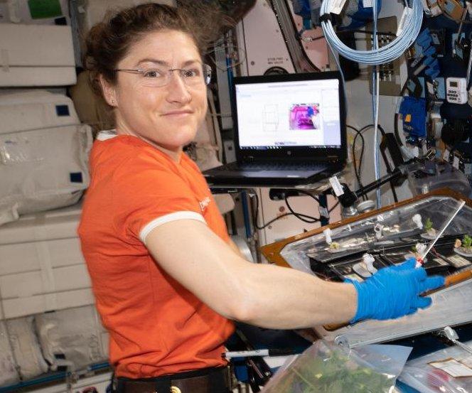 Astronaut Christina Koch to break female spaceflight record
