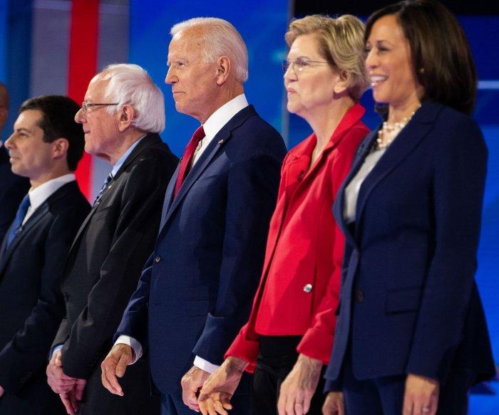 Meeting tougher standards, 10 Democrats set for 5th debate in Atlanta