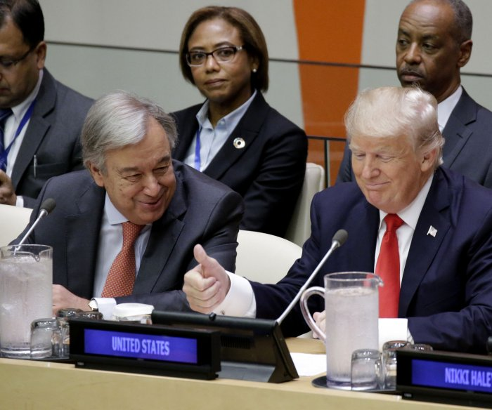 U.N. readies for Trump's General Assembly speech