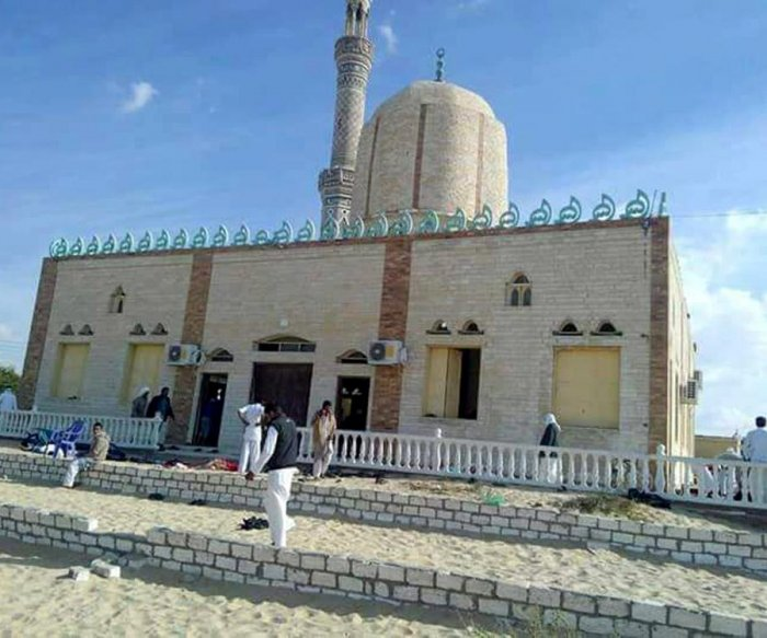 More than 150 dead in Egypt mosque attack