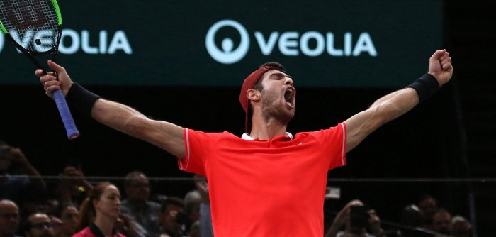 Russian Karen Khachanov wins Paris Masters in tennis