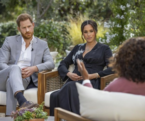 Prince Harry tells Oprah racism partly drove him, Meghan Markle from U.K.